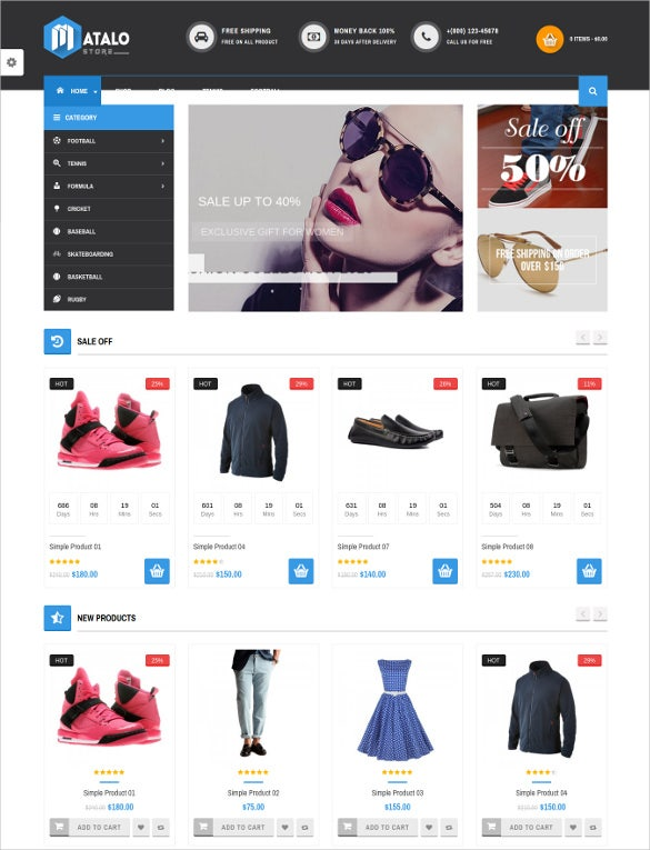 vg matalo ecommerce wordpress theme for online store
