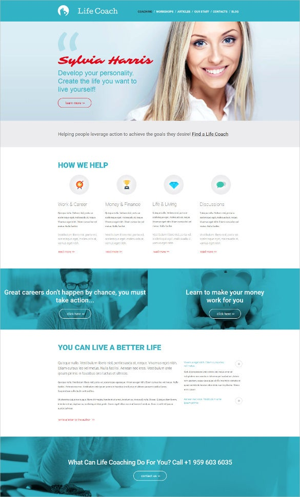 personal moto cms 3 php template
