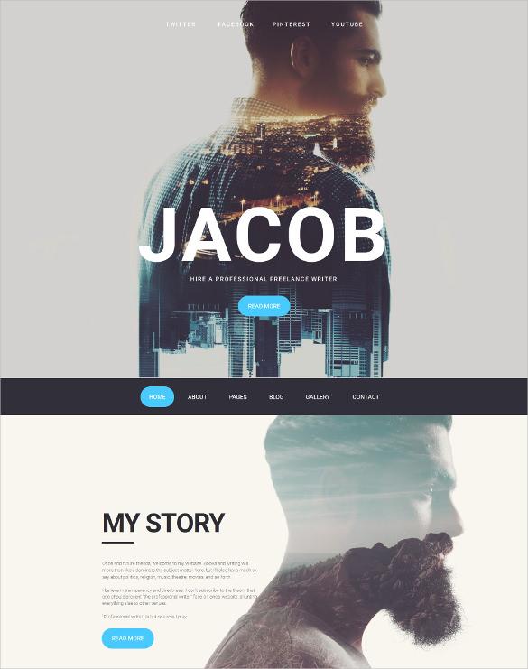 photographer portfolio responsive moto cms 3 website template