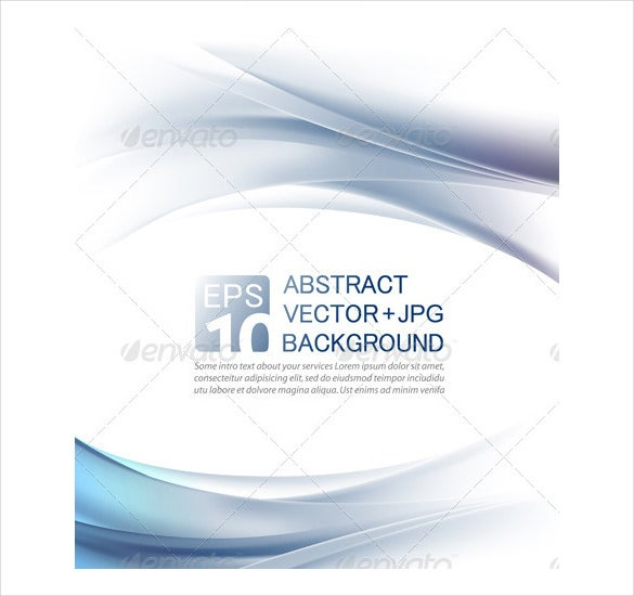 abstract letterhead of company vector template
