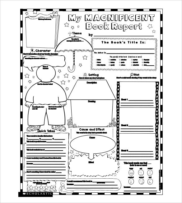 Cereal Box Book Report Template Cereal Box Book Reports 7 Best