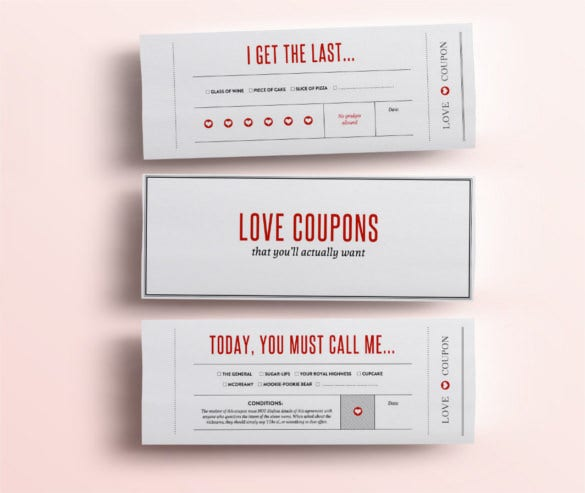 love coupons for him template - 24 blank coupon templates psd word eps jpeg free