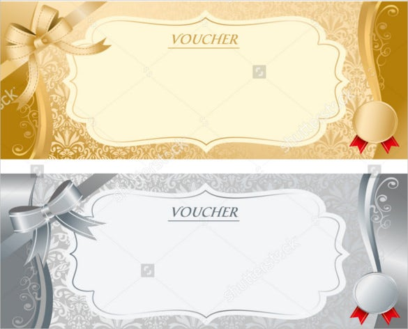 Blank Coupon Templates 26 Free PSD Word EPS JPEG Format – Template for a Voucher