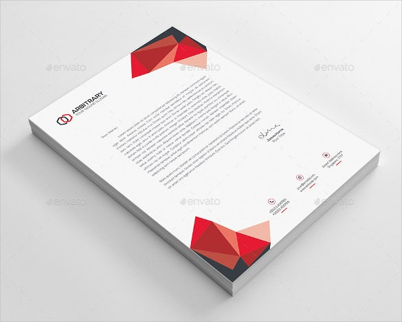 business letterhead template download
