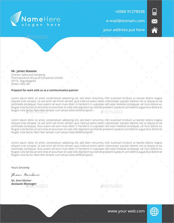 letterhead for business download