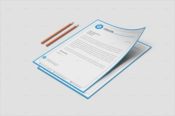 corporate business letterhead template download