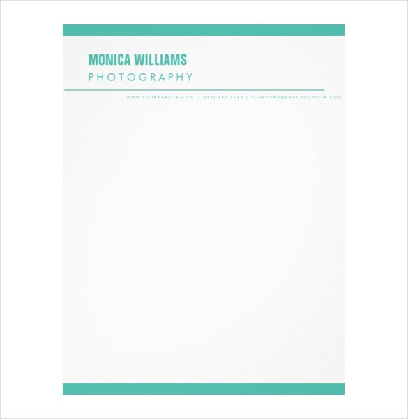 sans serif modern professional business letterhead download