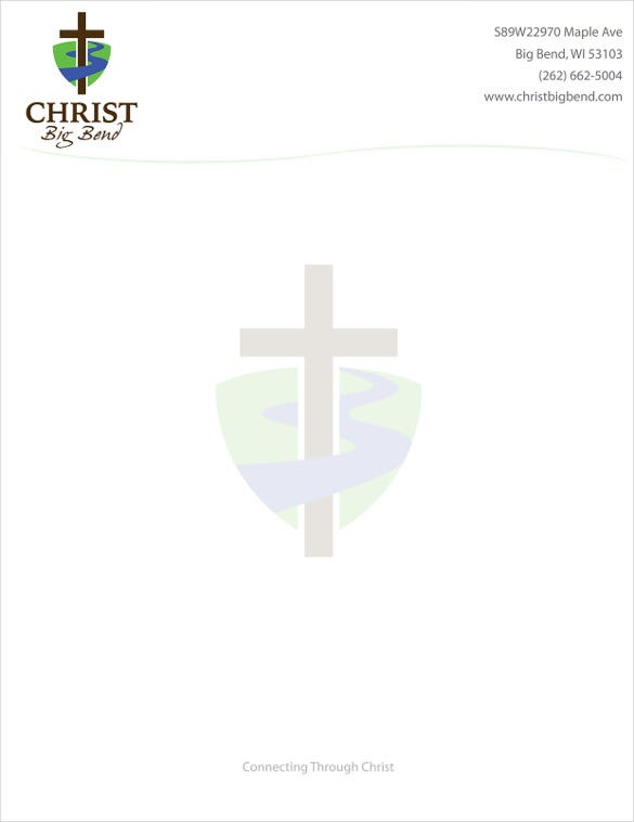 Church Letterhead Template   Free Psd Eps Ai Illustrator