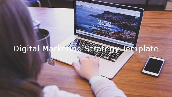 digital marketing strategy template1
