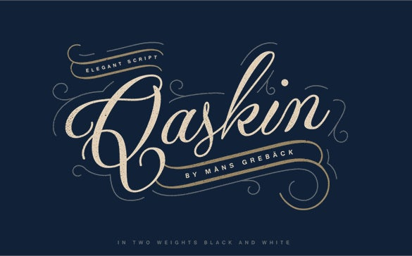 45+ free hand-made and calligraphy fonts.