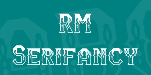 rm serifancy retro font download