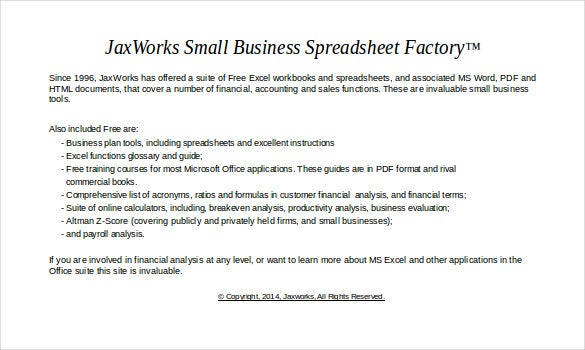 business acquisition worksheet sample excel format template