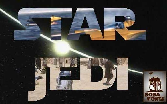 star jedi font free download