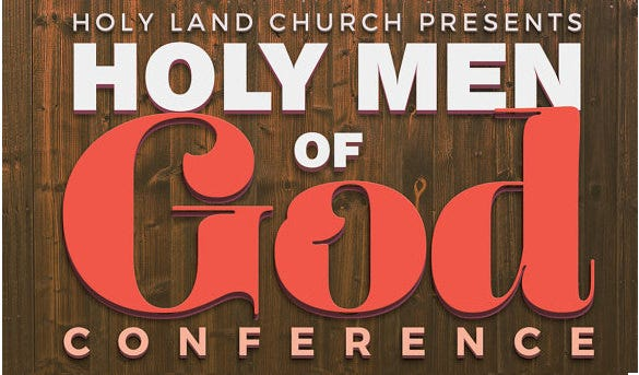 instant download men of god church template