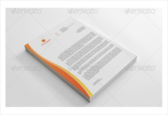 corporate letterhead and eps format download