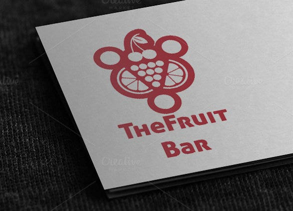 cousins bar and lounge logo template