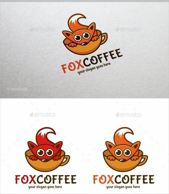 customizable 100 coffee logo template