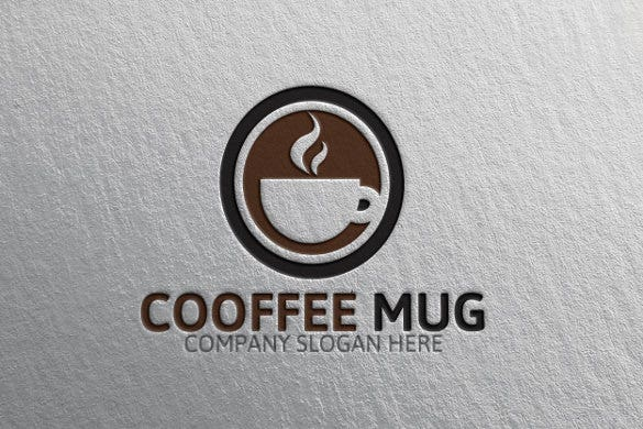 businesscoffe logo template