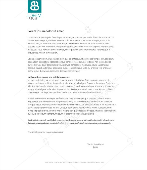 Psd Corporate Letterhead Template 000401: 30+ Corporate Letterhead Templates - Word, PSD, AI