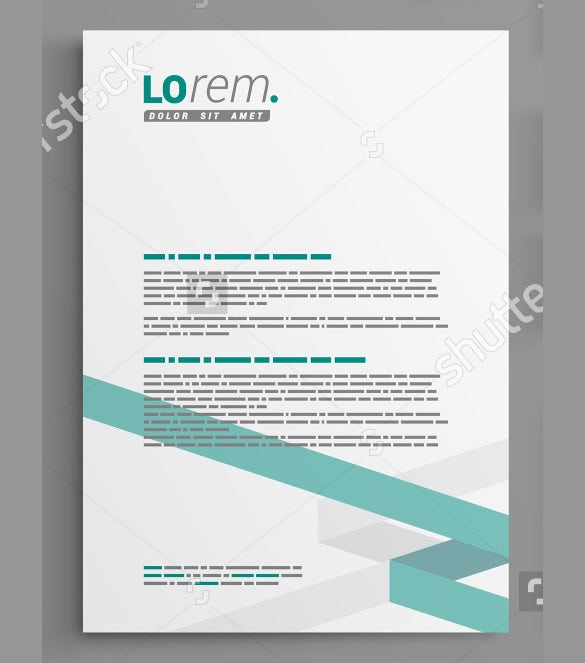 29 corporate letterhead templates doc psd free premium templates. Black Bedroom Furniture Sets. Home Design Ideas