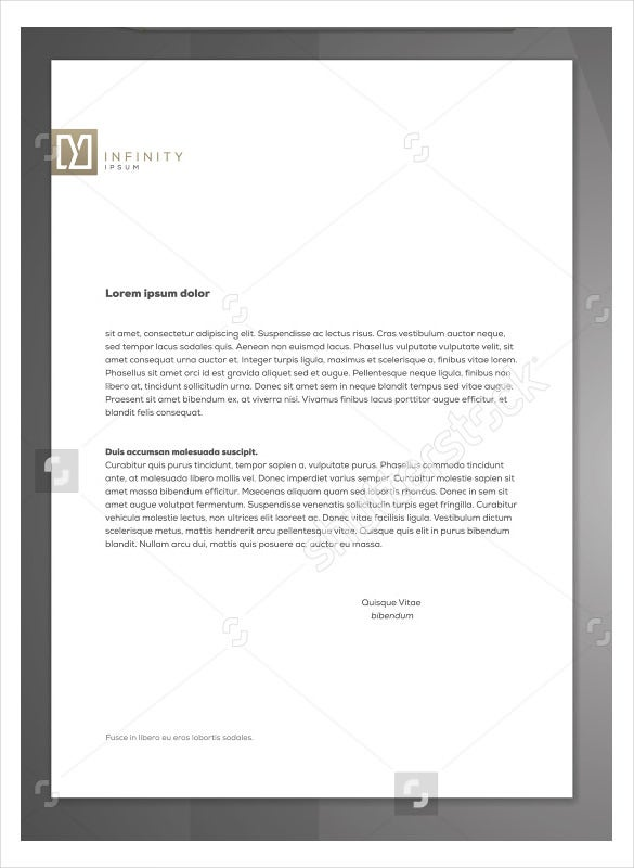29 corporate letterhead templates doc psd free premium templates minimal style corporate letterhead vector identity template spiritdancerdesigns Image collections