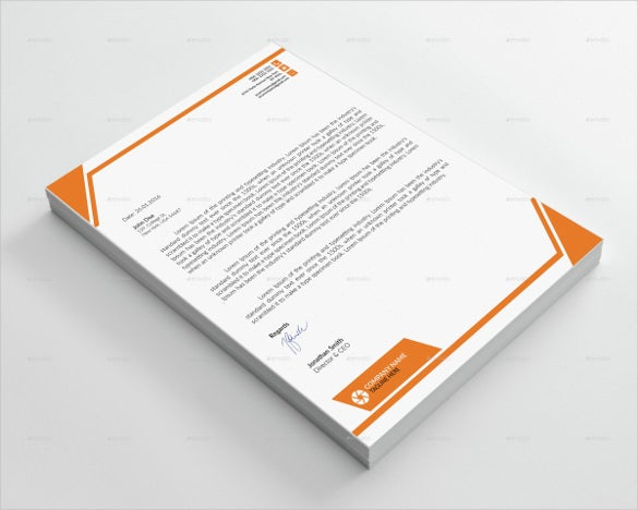 25 corporate letterhead templates 25 free psd eps ai illustrator format download free for Stationery templates psd