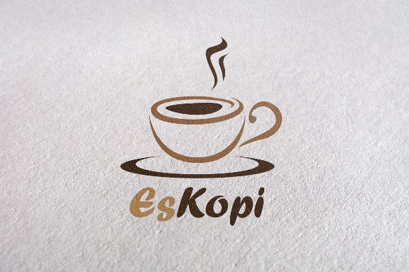 express coffee logo template