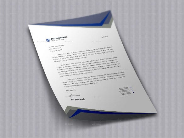 Letterhead design template 20 free psd eps ai illustrator letterhead design download spiritdancerdesigns Gallery