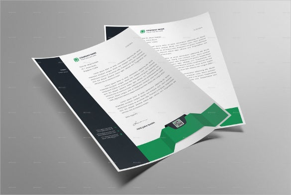 Letterhead design template 20 free psd eps ai illustrator simple letterhead design template download spiritdancerdesigns Image collections