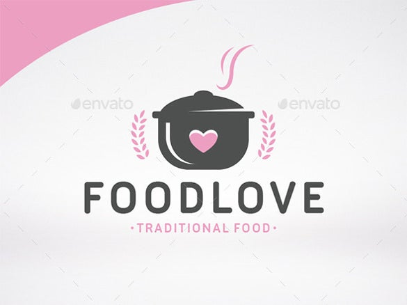 traditional food logo templates