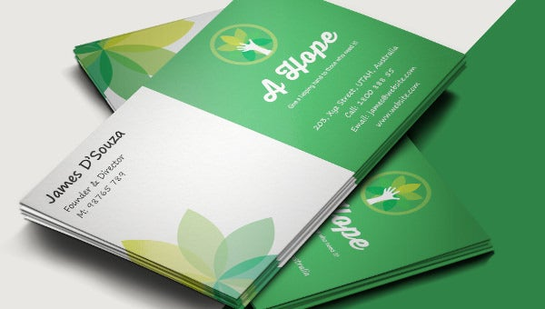 charity_businesscardtemplate