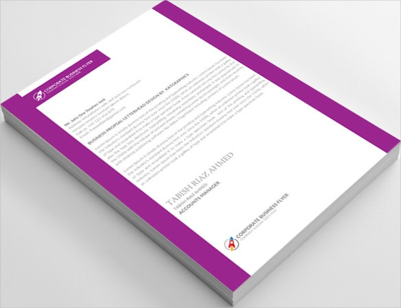 Mortgage Broker Legal Letterhead Template