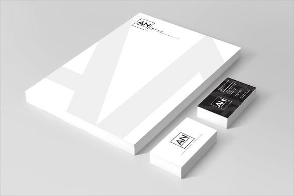 law firm letterhead corporate branding