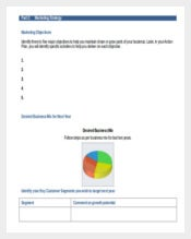 Marketing Plan For Businesses Free Download Template