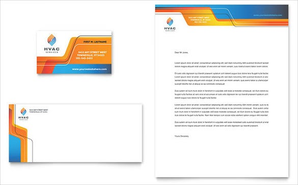 letterhead for comapny construction template download