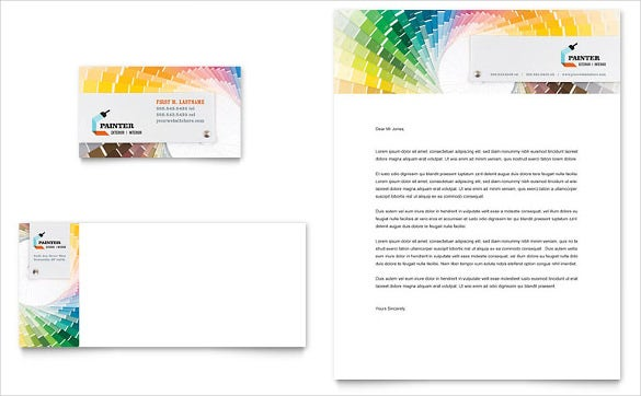 Habitation letterhead template, layout for microsoft word, adobe.