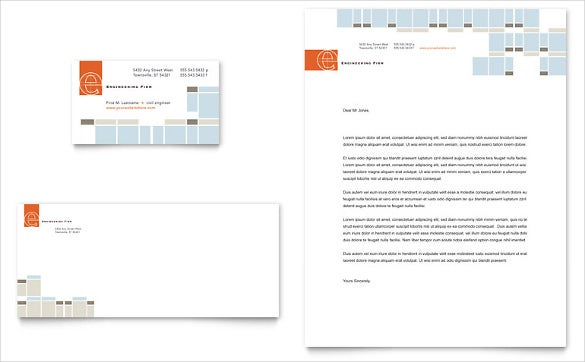 Construction Company Letterhead Template 10 Free Word
