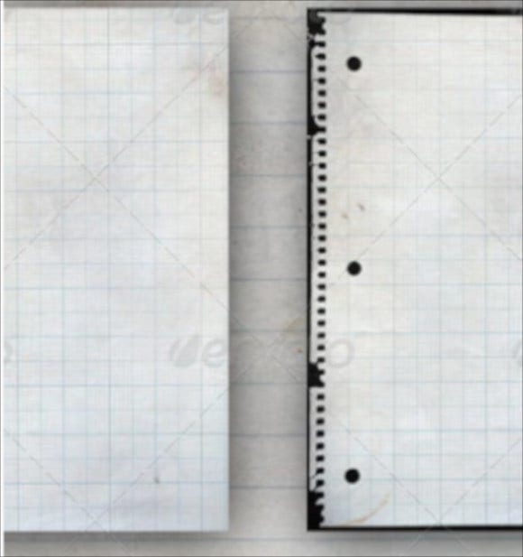 10 lined paper textures