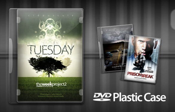 dvd plastic case psd format template download1