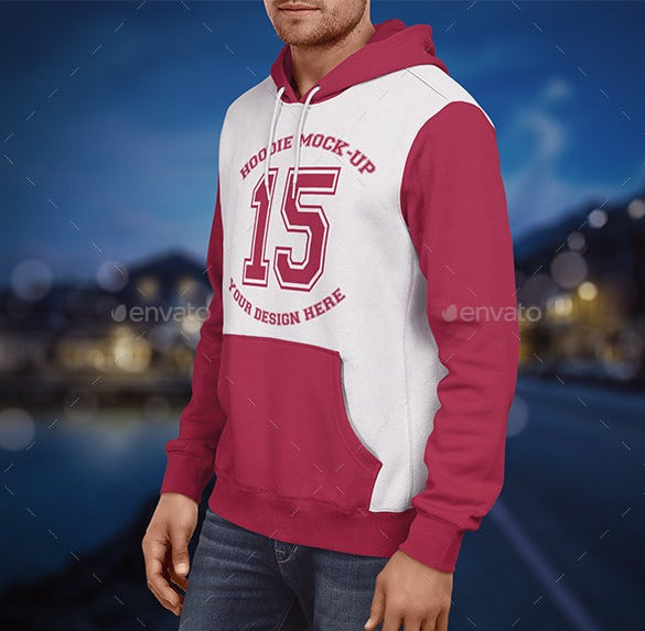 hoodie mockup mens edition psd download
