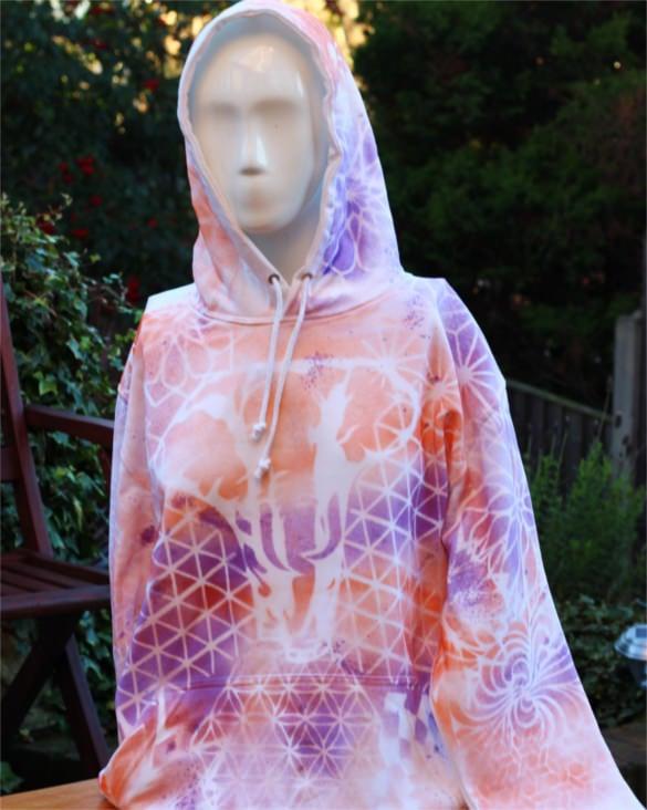 download medium geometric hoodie template