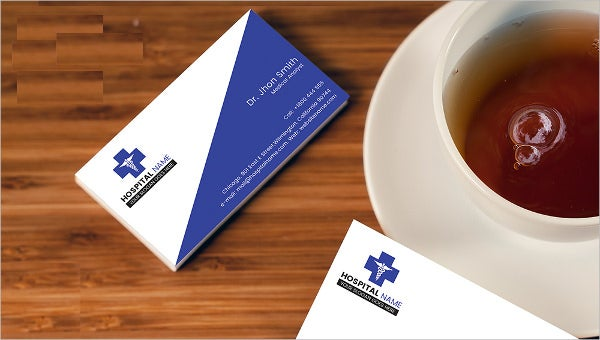 clinic_businesscard template