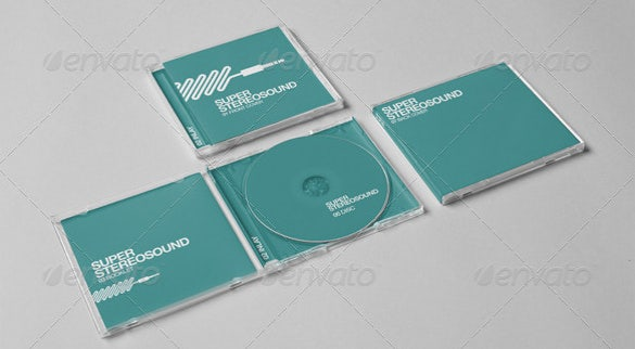 realistic cd jewel case psd format download