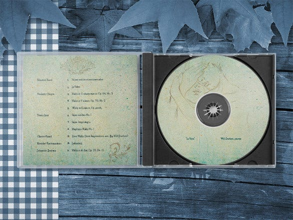 psd jewel case template download