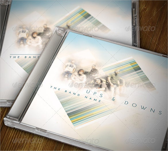 jewel case photoshop format template download