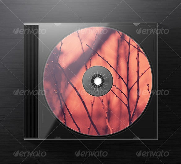 photorealistic jewel cd case example template download