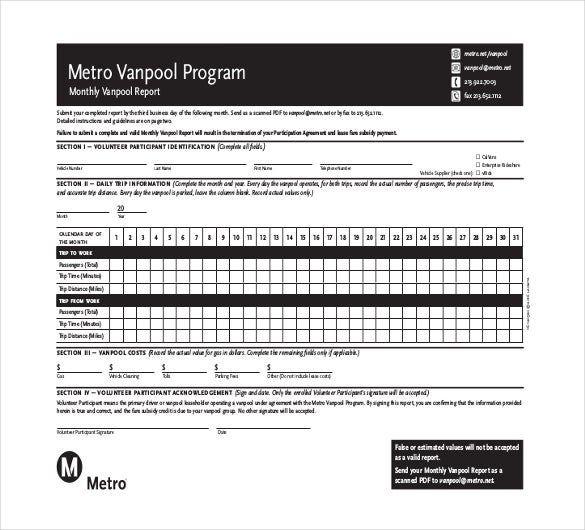 13 monthly report templates free sample example format download