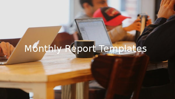 monthly report templates1
