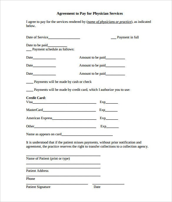 Payment Plan Agreement Template 25 Free Word PDF Documents – Payment Agreement Template