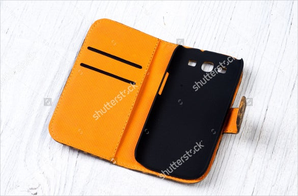 yellow and black colour sample phone case